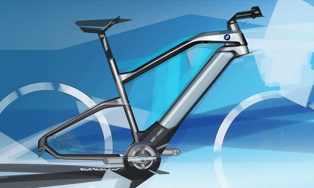 UB BMW Designworks Maslov Sketches E-Bike
